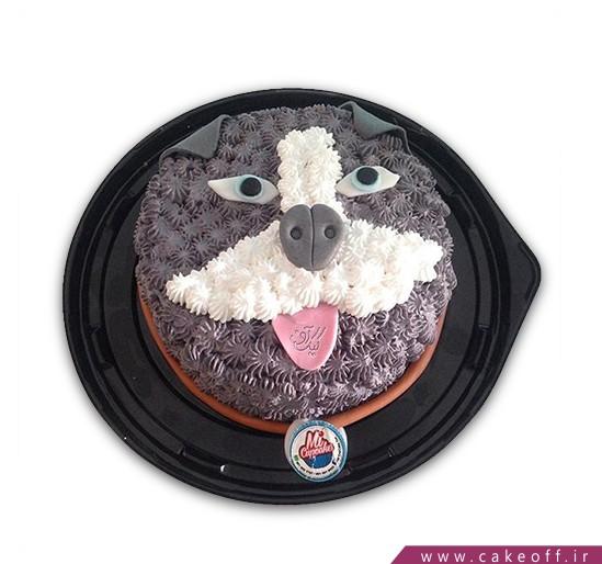 کیک سگ بد اخلاق