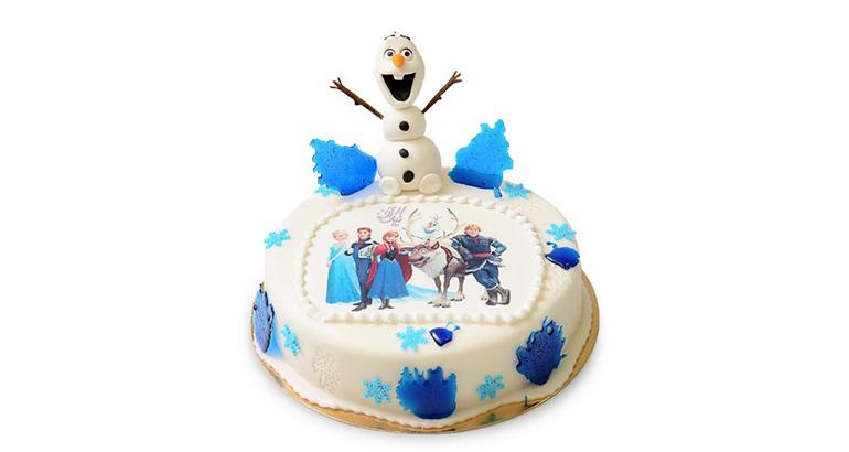 کیک تولد اولاف