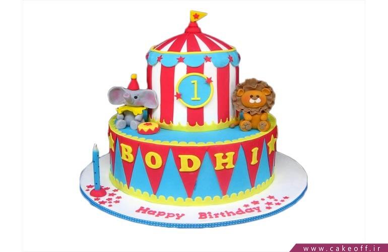کیک های سیرکی و کارناوالی