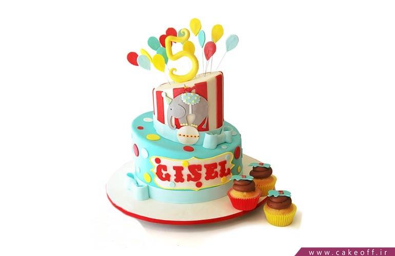 کیک میمون سیرک