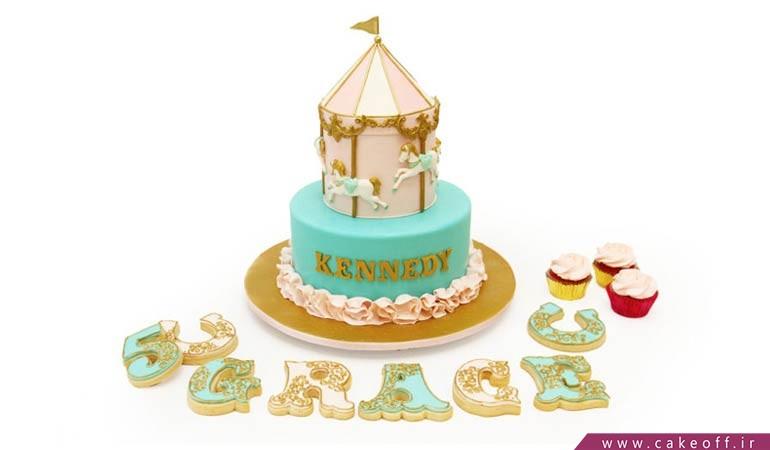 کیک کلاسیک سیرکی