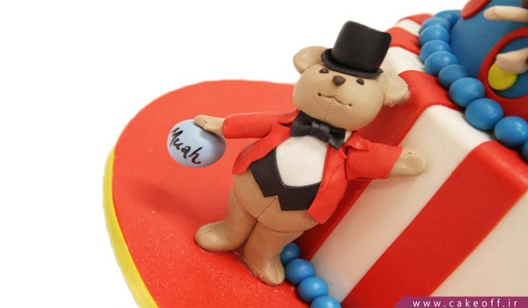 کیک دلقک سیرک