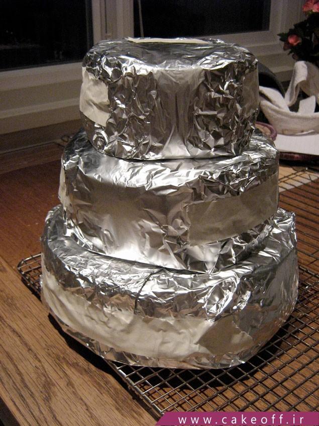 تکنیک های پخت کیک