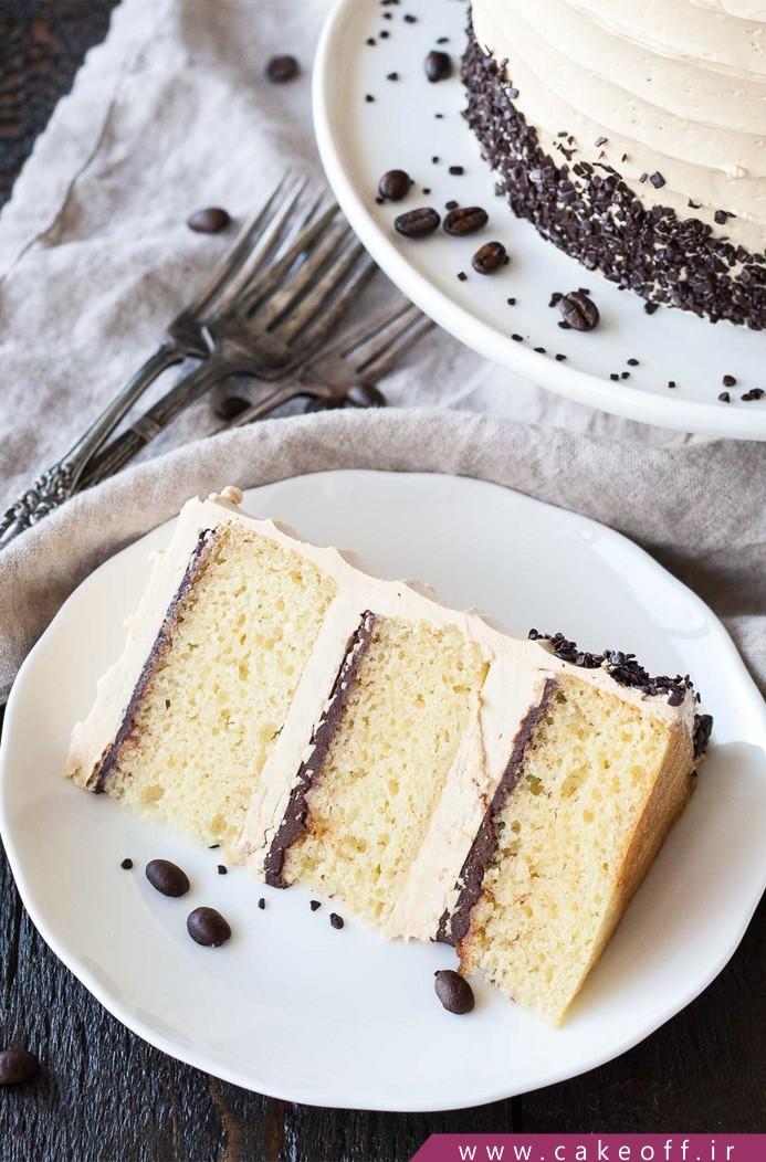کیک قهوه