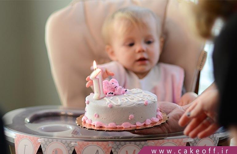 کیک تولد یکسالگی