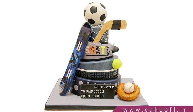 کیک ورزشی ، کیک فوتبالی