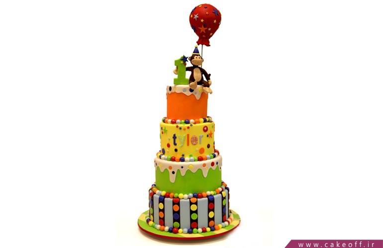 کیک تولد بچهگانه