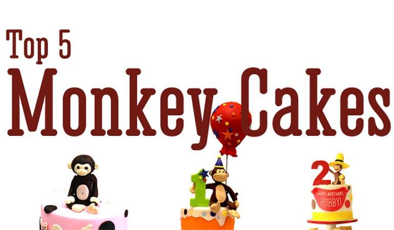 کیک تولد بچهگانه: میمونهایی که با کیک میآیند!