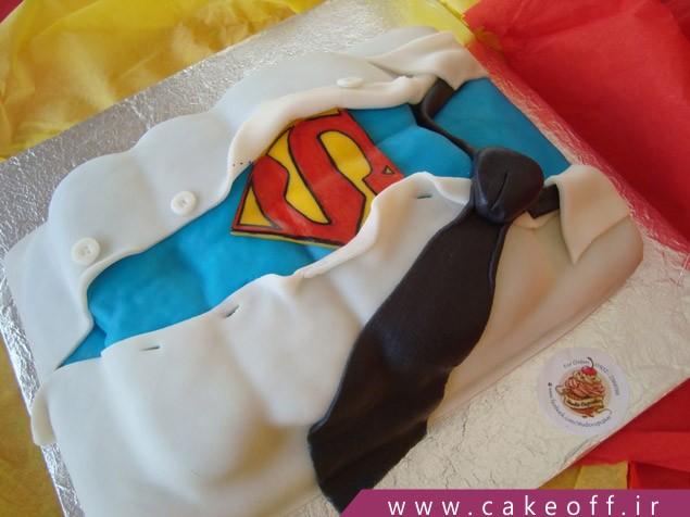 کیک تولد قهرمان من
