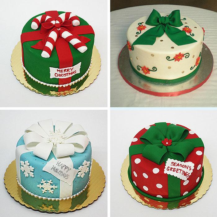 کیک فوندانتی، کریسمس را به شما تبریک می گوید! | کیکآف