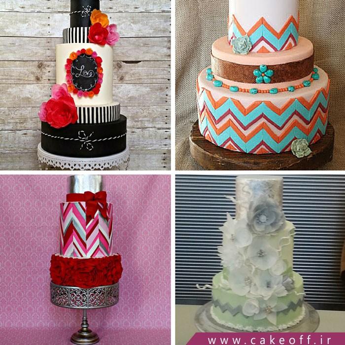 کیک فوندانت،کیک عقد و عروسی