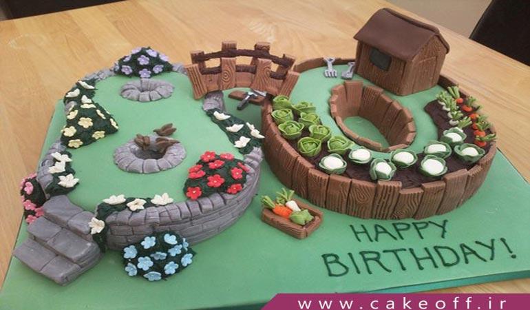 کیک تولد مردانه