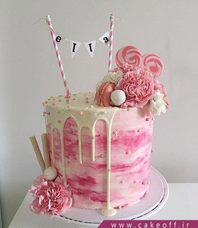 کیک تولد دخترانه