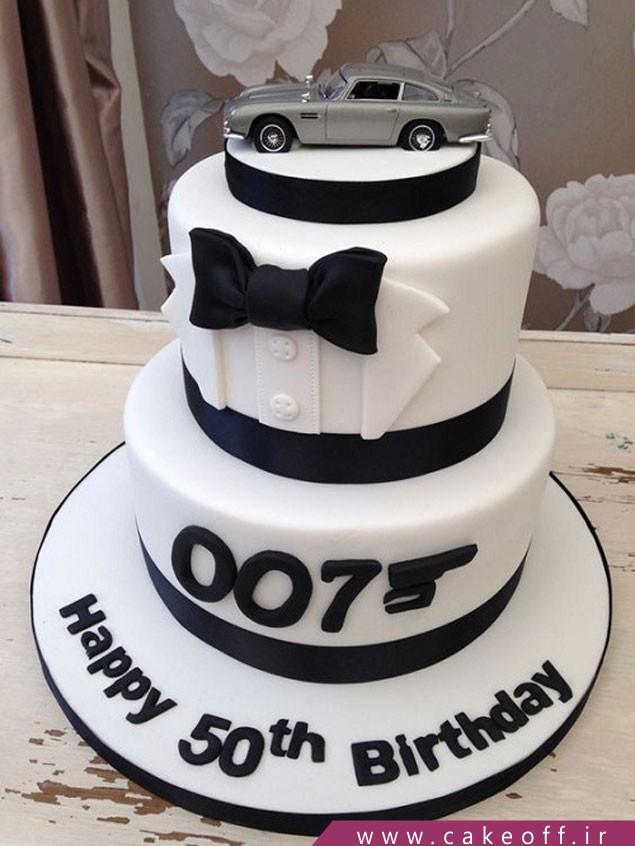 کیک تولد پدر