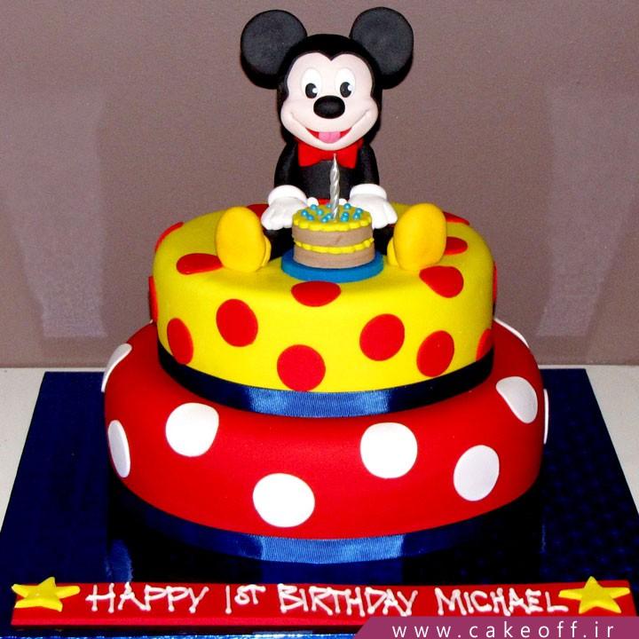 کیک تولد میکی موس