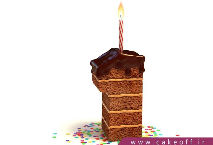 کیک تولد عددی