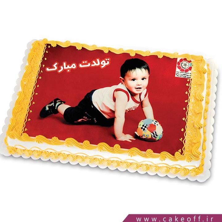 کیک تولد تصویری