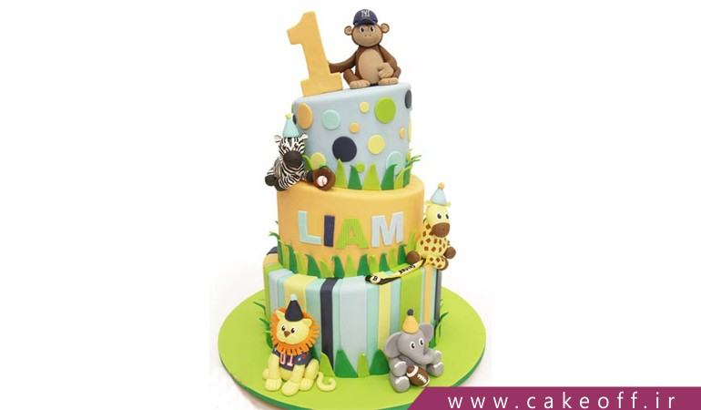 کیک تولد کارتونی