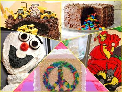 کیک تولد بچه گانه: ایده هایی آسان و در عین حال جالب برای بچه ی شما