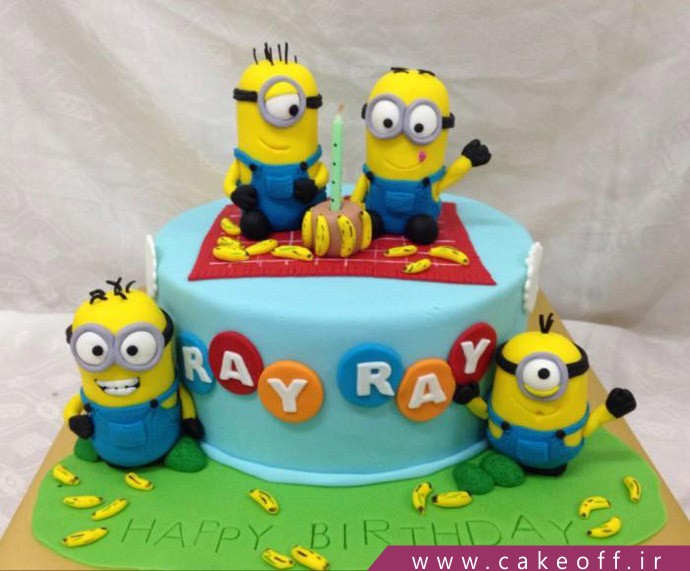 کیک مینیون