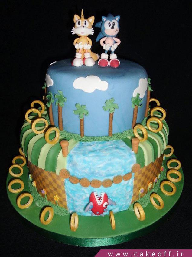 کیک تولد بچه گانه