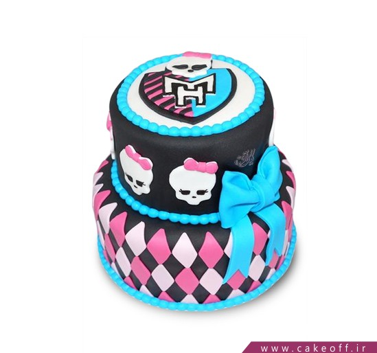 کیک تولد دخترانه مانستر های