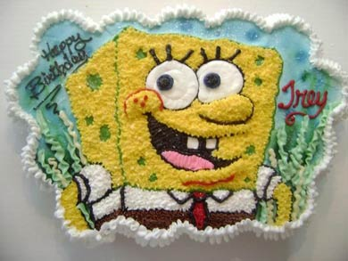 کیک باب اسفنجی: ده ایده ی باحال برای کیک تولد بچه گانه!