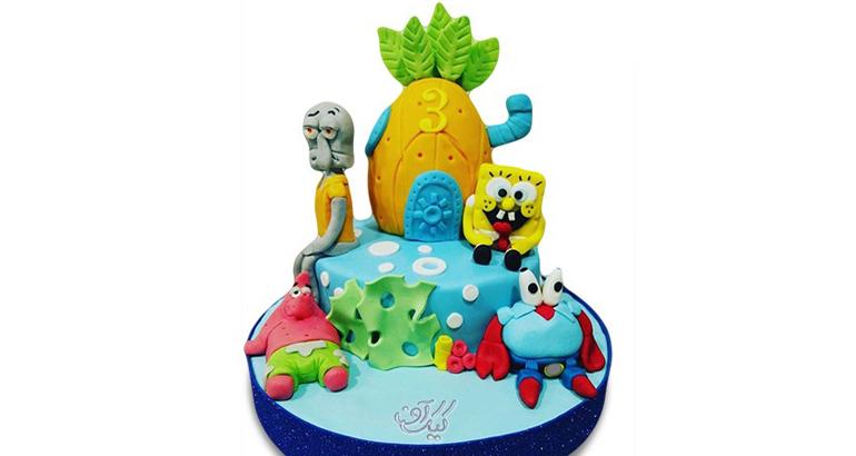 کیک فیگور باب اسفنجی