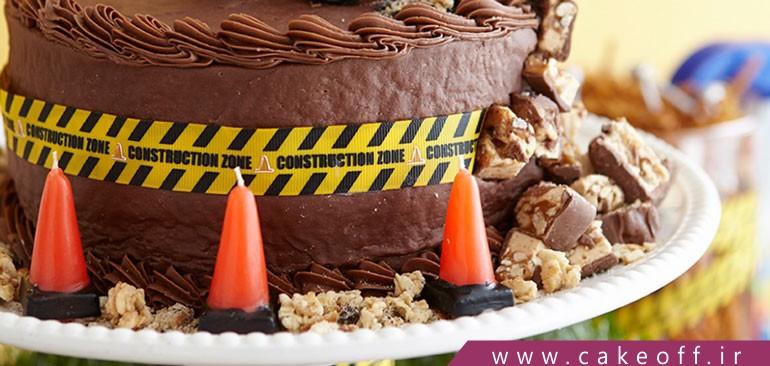 تزئین کیک تولد