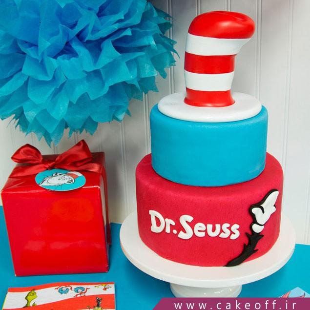 کیک تولد فوندانتی