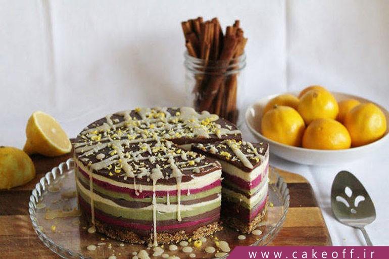 کیک تولد سالم