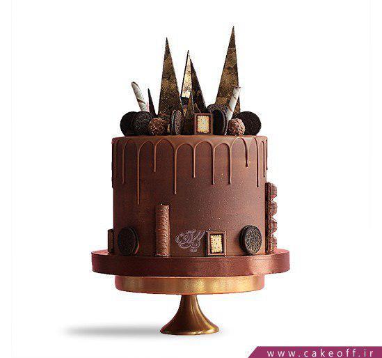 کیک شکلاتی تولد