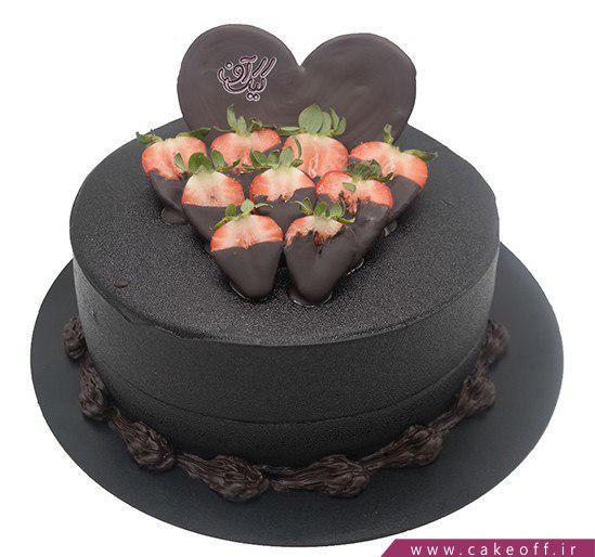 کیک شکلاتی کادوئی