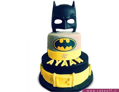 کیک بتمن: جذاب ترین زرد و مشکی دنیا