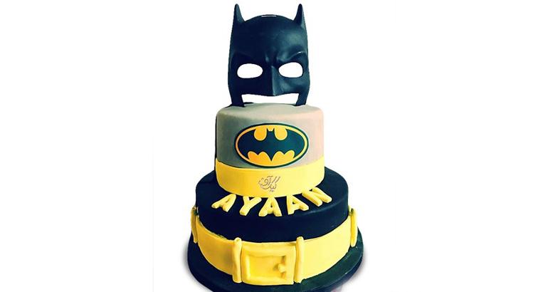 کیک تولد بتمن