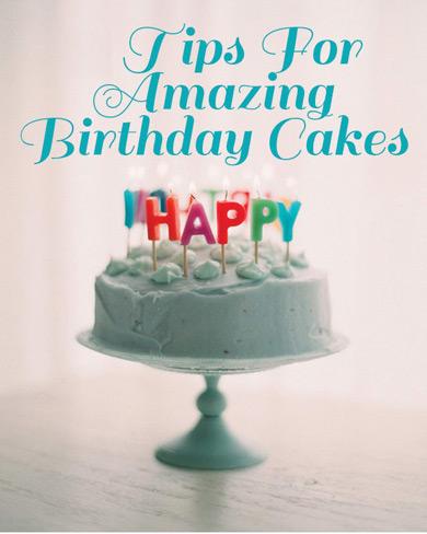 کیک تولد: ترفند های جذاب و هیجان انگیز