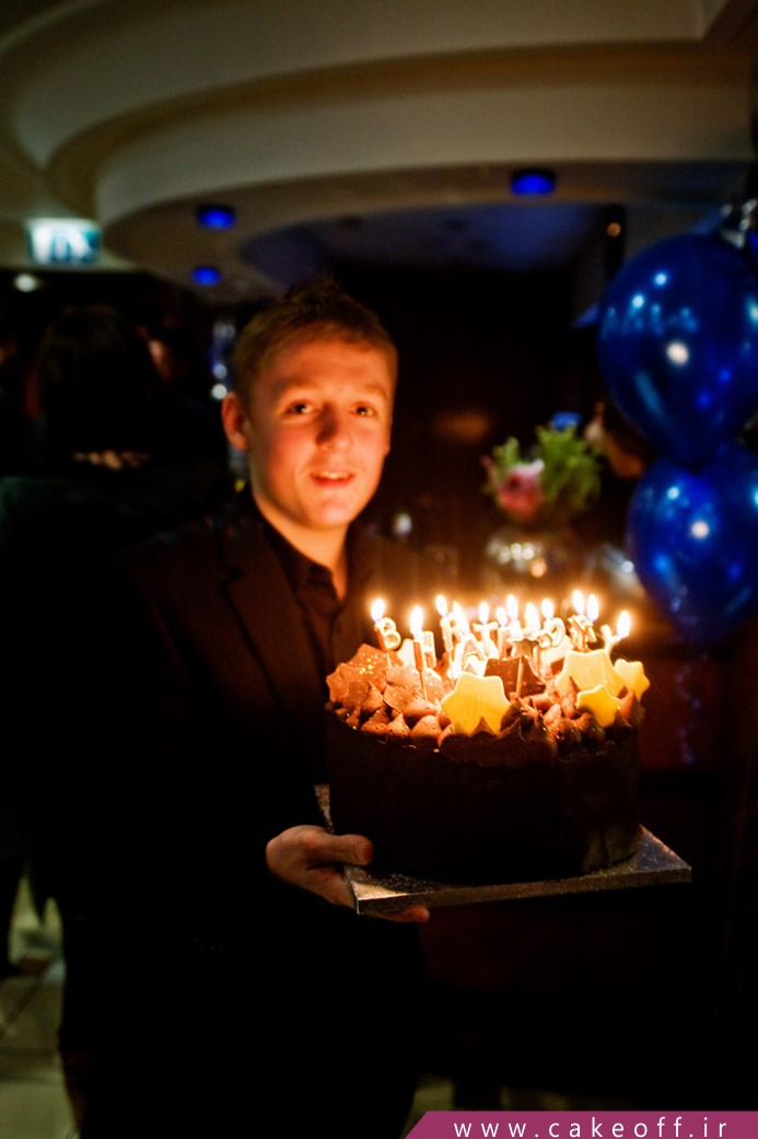 رقابت کیک تولد و کاپ کیک