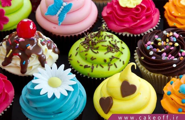 شادی تان را با کاپ کیک های فوق العاده دو چندان کنید | کیک آف