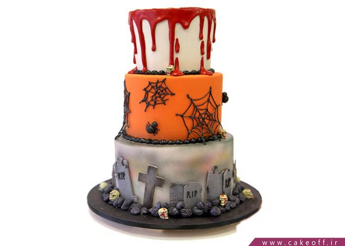 کیک تولد ترسناک