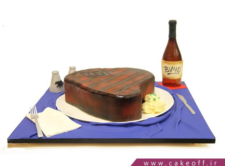 کیک استیک کبابی