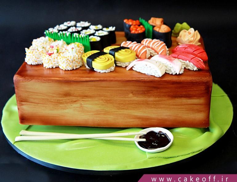 کیک سوشی عروس
