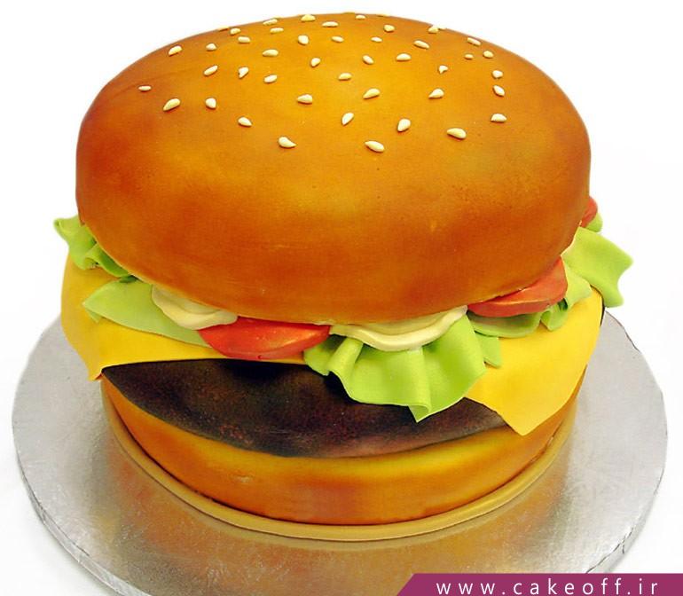 کیک همبرگر
