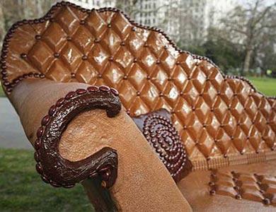 آثار خلاقانه با شکلات | کیک آف