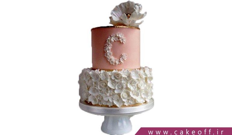 کیک گلدار