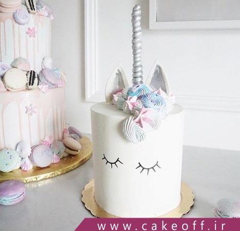 کیک تولد اسب