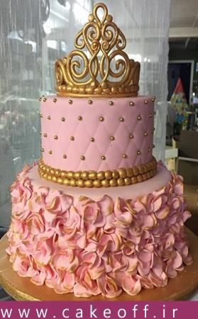 کیک تولد فانتزی دخترانه