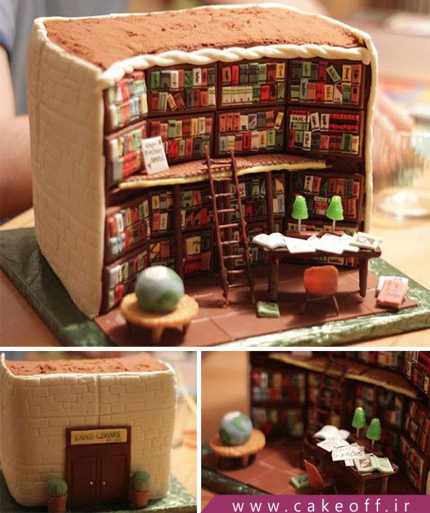 کیک جالب