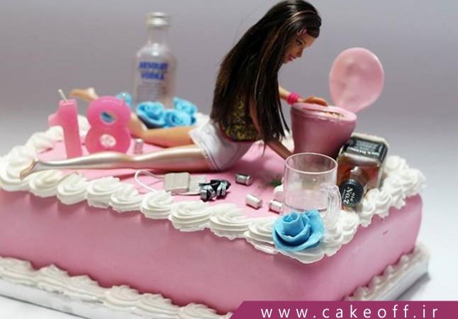 کیک تولد باربی