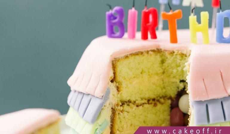 کیک تولد ساده و بدون خامه؟ هرگز!