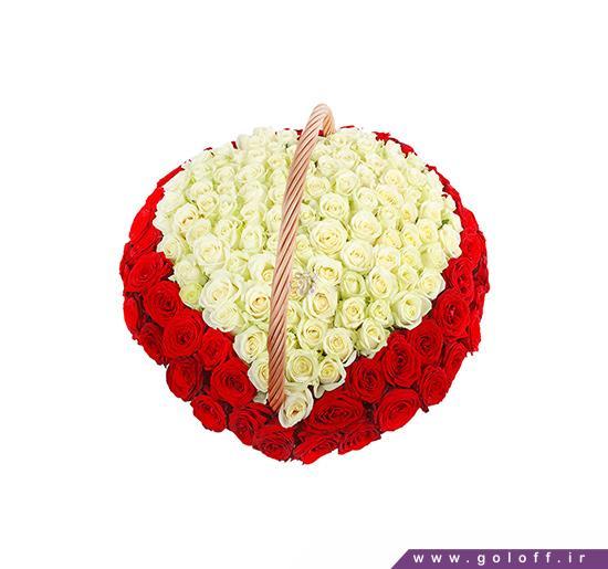 تزئین سبد گل برای شب یلدا